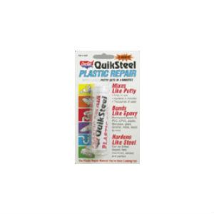 Plastic Repair: Quiksteel Plastic Repair White Epoxy Putty