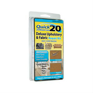 quick 20 deluxe upholstery fabric repair kit repair products. Black Bedroom Furniture Sets. Home Design Ideas
