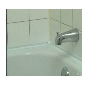 tub and bath surround trim peel seal 3 81cm x 3 35m. Black Bedroom Furniture Sets. Home Design Ideas