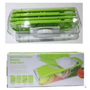 Multifunction 5 in 1 manual vegetable slicer